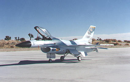 F-16 On Ground Side View
