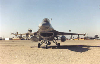 F-16 Front View