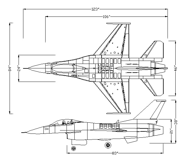 f 16 wing diagram